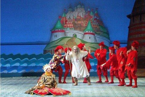 Сказка о Царе Салтане Мариинский театр