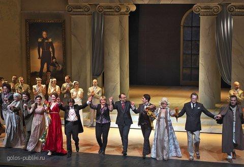 Евгений Онегин в Геликон-опера