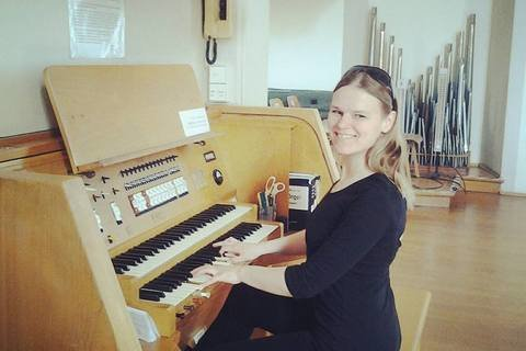 Юлия Драгинда орган Органные вечера в Кусково