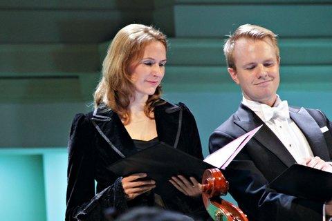 Морган Пирс и Александра Раволь
