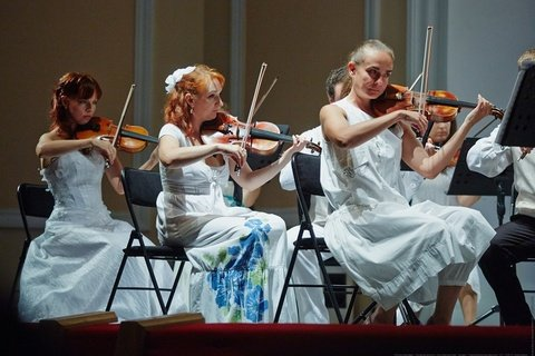 Камерный оркестр Новосибирской филармонии, Белый фестиваль
