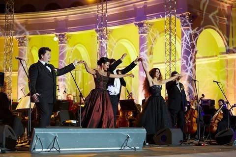 Открытая Опера: гала-концерт звезд оперной сцены в Зеленом театре ВДНХ