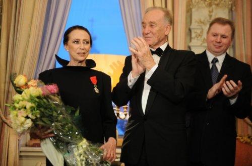 Майя Плисецкая, Родион Щедрин. Фото ИТАР-ТАСС/ Александра Мудрац