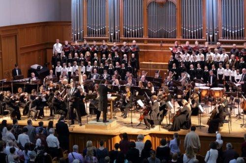 Презентация Симфонического оркестра под управлением Владимира Горбика
