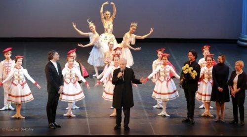 Гала-концерт «Балетмейстер» в честь Олега Виноградова.Фото Владимира СОКОЛОВА.