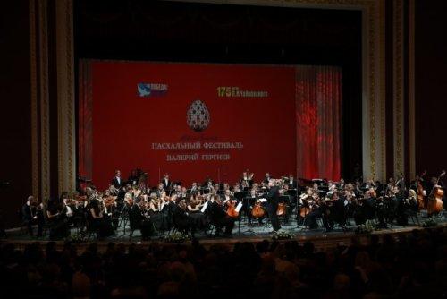 Исполнение Седьмой симфонии оркестром Мариинского театра под управлением Валерия Гергиева. Самара, 2015 год. Фото Александра Шапунова.